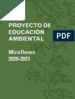 Proyecto de Educación Ambiental. Miraflores, 2020-2021