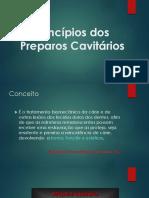 3-Princípios dos Preparos Cavitários