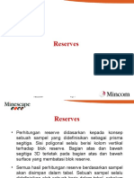 Min Escape 05 Reserves