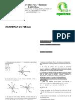 problemario de Fisica para informaticos UPIICSA