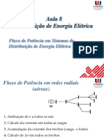 Aula 8 - Fluxo de potência de sistemas de Distribuição de Energia ElétricaA