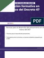 Evaluación Formativa D67 Charla Online 4