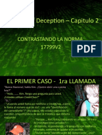 Analisis The Art of Deception – Capitulo 2