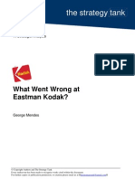 What went wrong at Eastman Kodak
