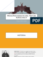 Principios Básicos del Test de Rorschach (PDF del Powerpoint)