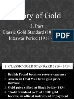 History of Gold - Part 2