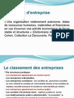 PGS management fonctions de l'entreprise