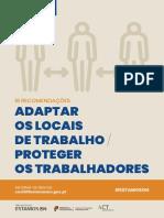 Adaptar Os Locais de Trabalho e Proteger Os Trabalhadores (19 Medidas)