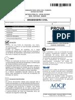 AOCP FUNPAPA 2018 PROVA_Engenheiro Civil