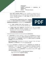 DEMANDA DE REDUCCION Y PRORATEO DE ALIMENTOS