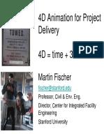 4D Modeling VDC Certificate