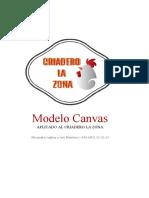 MODELO CANVAS Criadero La Zona