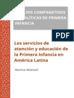 Mattioli, K. Los servicios de atención y educación de la Primera Infancia en América Latina en Análisis comparativos de políticas de pr.S1