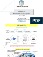 Cours Capteurs Fsth LICENCE