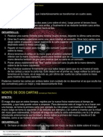 Cartomagia Efectos