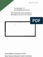DNA'da SSR (Basit Dizilim Tekrarları) Analizi Yöntemiyle Balarısı (Apis mellifera) Populasyonlarının Genetik Yapısının Araştırılması