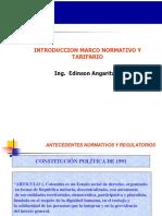 Introduccion Marco Normativo y Tarifario AAA