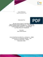Paso 5- Evaluación Final - Didáctica ECEDU (1) Trabajo Colaborativo