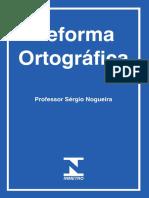 Reforma Ortográfica - Cartilha