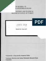 Türkiye'de Bal Arısı (Apis mellifera L.) Irklarının Karakterizasyonu ve Korunması