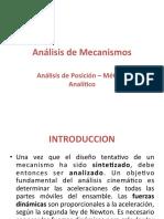 Analisis de Posicion -Analisis de Mecanismmos