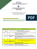 Cronograma Ead 2014.2