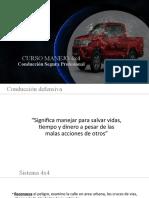 CURSO MANEJO CAMIONETA 4X4
