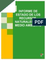 Informe de Estado de Los Recursos Naturales y de Medio Ambiente 2017
