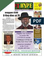 Street Hype Newspaper - Feb 1-28,2021 Issue