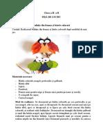 Abilități practice - Bufnițe din frunze și hârtie-1