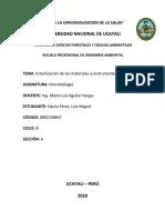 Practica 2 de Microbiologia Ambiental