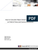 How to Calculate Object Detail Level Based on Field of View and Camera Resolution3