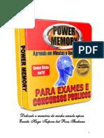 Power Memory Apostila de Trabalho