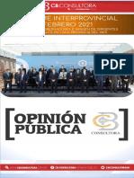 Febrero 2021 - Informe Interprovincial Cb Consultora _ Ranking de Gobernadores e Imagen de Dirigentes Provincia Por Provincia-