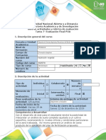 Guía de Actividades y Rúbrica de Evaluación-Tarea 7- Evaluacion Final POA
