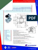 Série 212 - 300 Lbs - BP-FLG - Alavanca