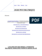 semiologie psychiatrique