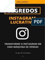 Módulo 1 - Instagram Lucrativo