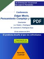 edgarmorinpensamientocomplejoyeducacin23-10-2013-131023204526-phpapp01