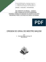 Origem Do Grau de Mestre.pdf