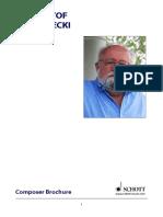 Penderecki - List of Works