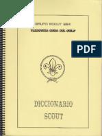 Diccionario Scout