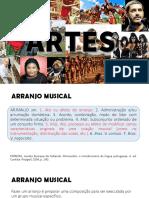 ARTES - Aula 7 - O arranjo e suas partes