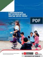 Lineamientos de La Educación Inicial en El Perú