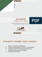 Innovación Conceptos, Tipos y Proceso Curso Emprendimiento_est