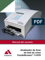 MANUAL  Combi-Scan 500