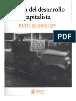 Teoría Del Desarrollo Capitalista(1942) Sweezy, Paul M