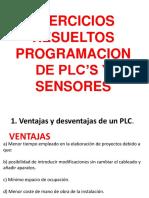 EJERCICIOS RESUELTOS DE PLCS Y SENSORES