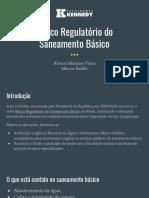 Marco Regulatório do Saneamento Básico - Alisson Marques e Marcos Baldin