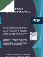 Evaluación cognitivo conductual